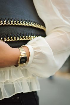 Retro Digital Watch Look Top6trends Style Fashion Culture