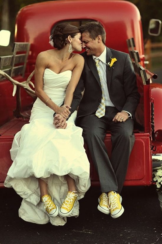 Converse All Star Wedding Shoes - Wedding Shoes