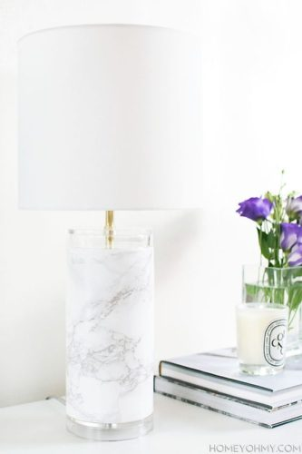 faux-marble-lamp