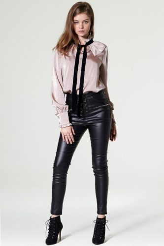 vena-sreappy-leather-pants-and-tie-blouse